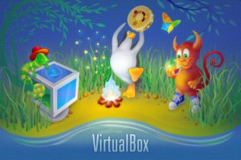 VirtualBox About Screen