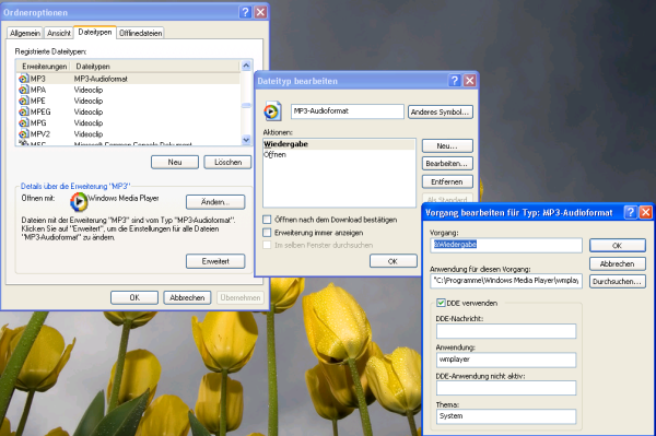 Ordneroptionen Windows 7